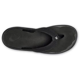 OluKai Ohana Chaussures Femme, black/black